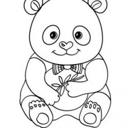 Dibujos De Osos Panda Dibujos Para Colorear Facil